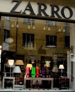 Zarro designkauppa Helsinki
