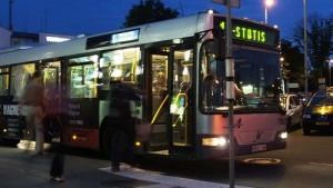 Bussi Vilnan lentokentälle