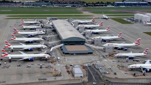 Heathrow lentokenttä terminaali 5c