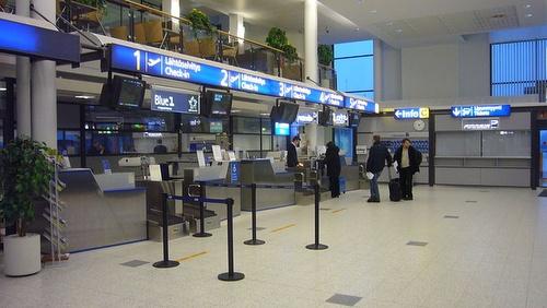 Kuopion lentokentän terminaali