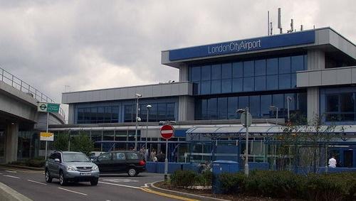 Lontoo-Cityn lentokenttä terminaali