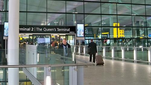 Lontoo Heathrow terminaali 2
