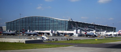 Lontoon Heathrown lentokenttä terminaali 5