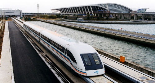 Maglev-juna Shanghai Pudong lentokenttä Kiina