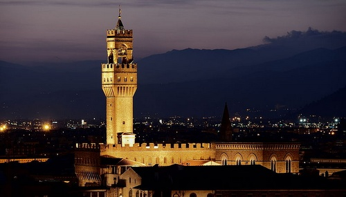 Palazzo Vecchio Toscana Italia