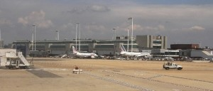 Rooman Fiumicinon lentokentän terminaali