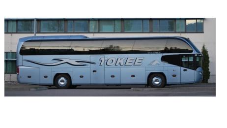Ryanairin lentokenttäbussi Tokee Tampere