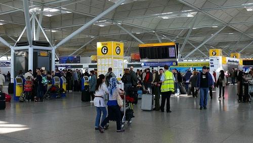 Stanstedin lentokenttä terminaali