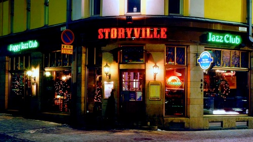 Storyville jazz-ravintola Helsinki
