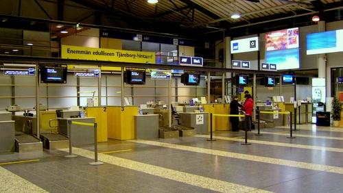Tampereen lentokenttä terminaali 1