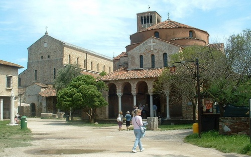 Torcello Santa Foscan kirkko Venetsia