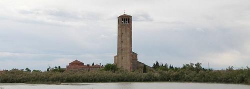 Torcellon saari Venetsia Italia