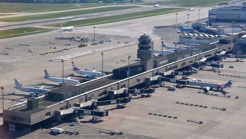Zurichin lentokentän terminaali A