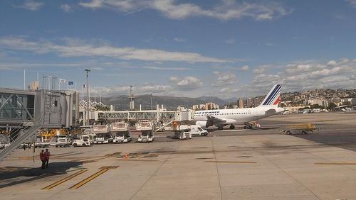 Air France Nizzan lentokenttä terminaali 2