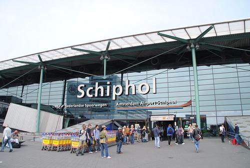 Amsterdam Schipholin lentokenttä