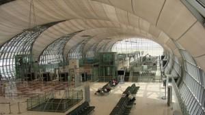 Asemahalli Suvarnabhumin lentokenttä Bangkok