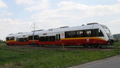 Balice Ekspress lentokenttäjuna Krakova