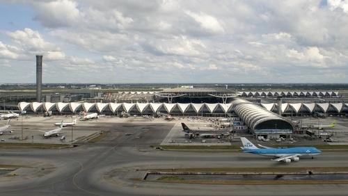 Bangkok-Suvarnabhumin lentokenttä