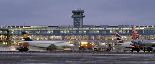 Domodedovon lentoasema Moskova