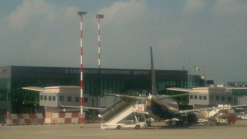 Il Caravaggio International lentoasema Bergamo