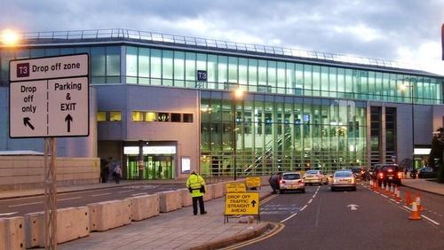 Manchesterin lentokenttä terminaali 3