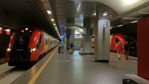 Varsova-Chopin lentokentän rautatieasema