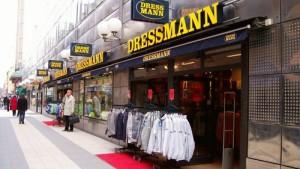 Dressmann vaatekauppa Tukholma