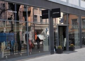 Jupiter vaatekauppa Norrlandsgatan Tukholma