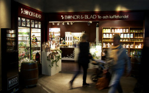 Bönor & Blad tee- ja kahvikauppa Tukholma
