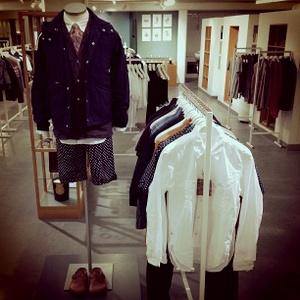 Nitty Gritty menswear myymälä Tukholma
