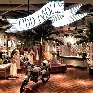 Odd Molly vaatekauppa Tukholma
