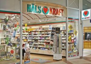 Hälsokraft luontaistuote- ja terveyskauppa Tukholma