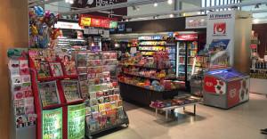 Vi Vinnare kioski Bromma Blocks Tukholma