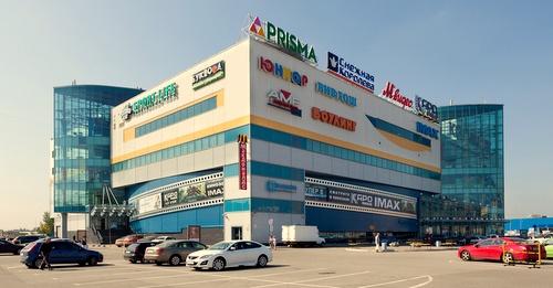 Kontinent na Baykonurskoy ostoskeskus Pietari Venäjä.