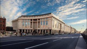 Galeria kauppakeskus Pietari Venäjä.