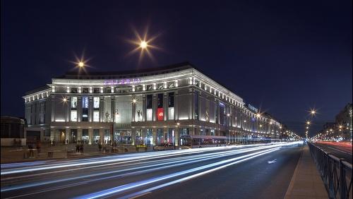 Galeria ostoskeskus Pietari Venäjä.