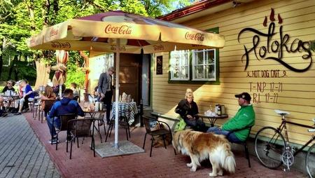 Hotokas hot dog kahvila-ravintola Tallinna.