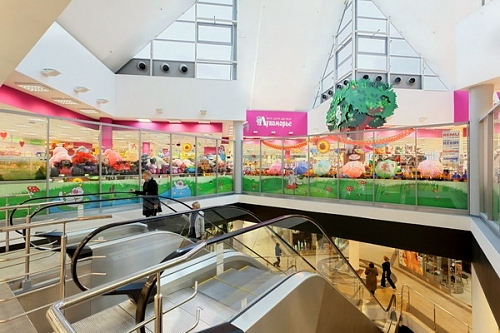 Nord ostoskeskus Pietari Venäjä.
