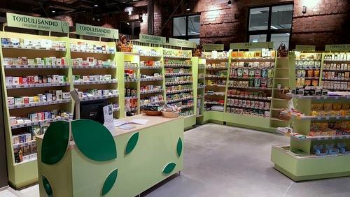 Looduse Abi terveyskauppa Arsenal kauppakeskus Tallinna.