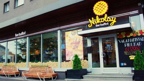 Bar-Buffeé Nikolay leipomobaari Tallinna.