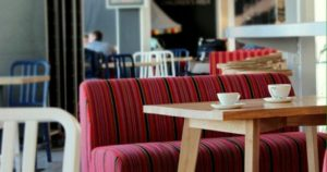 Welcome Café kahvila-ravintola Tallinnan lentokenttä.