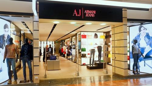 Armani Jeans vaatekauppa Virukeskus Tallinna.