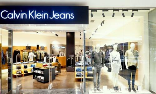 Calvin Klein Jeans myymälä Virukeskus Tallinna.