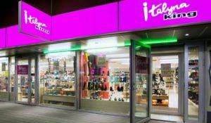 Italyna King kenkäkauppa Virukeskus Tallinna.