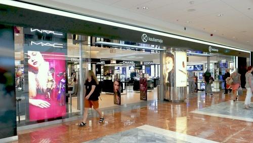 Kaubamaja Ilumaailm kosmetiikkamyymälä Tallinna.