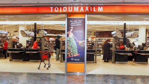 Kaubamaja Toidumaailm ruokakauppa Viru Keskus Tallinna.