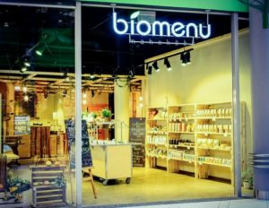 Biomenu Maheköök vegaaniravintola Ülemiste Keskus Tallinna.