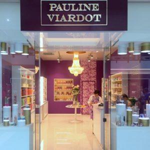Pauline Viardot kosmetiikka- ja hajuvesikauppa Viru Keskus Tallinna.