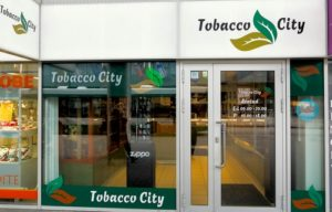 Tobacco City tupakkakauppa Viru Keskus Tallinna.