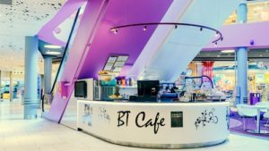 BT Cafe kahvila Ülemiste Keskus Tallinna.